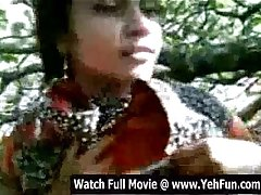 young indian girl showing boobs and pussy outdoor